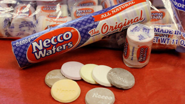 Necco wafers, candy