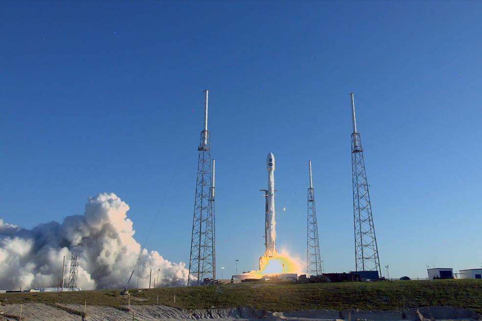 TESS liftoff