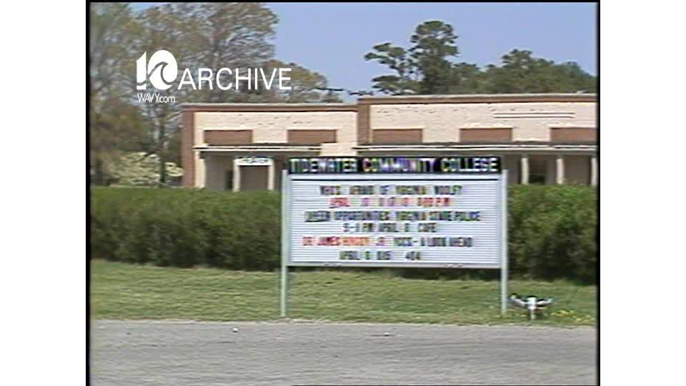 WAVY Archive: 1981 College Funding