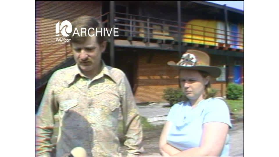 WAVY Archive: 1981 Hampton Golden Sands Motel Fire