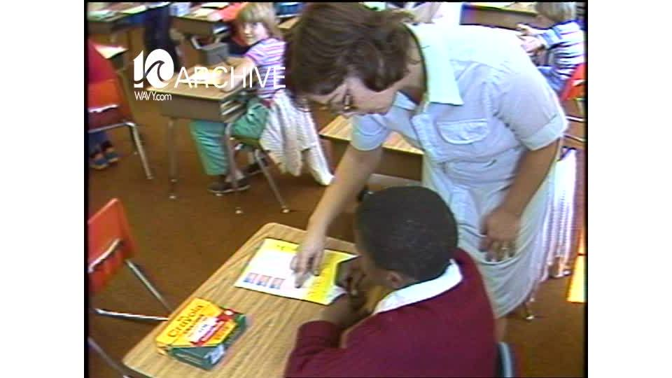 WAVY Archive: 1981 Hampton Teachers