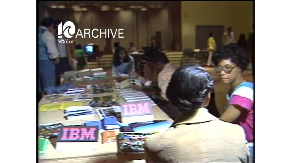 WAVY Archive: 1981 Police Officer Recruiting