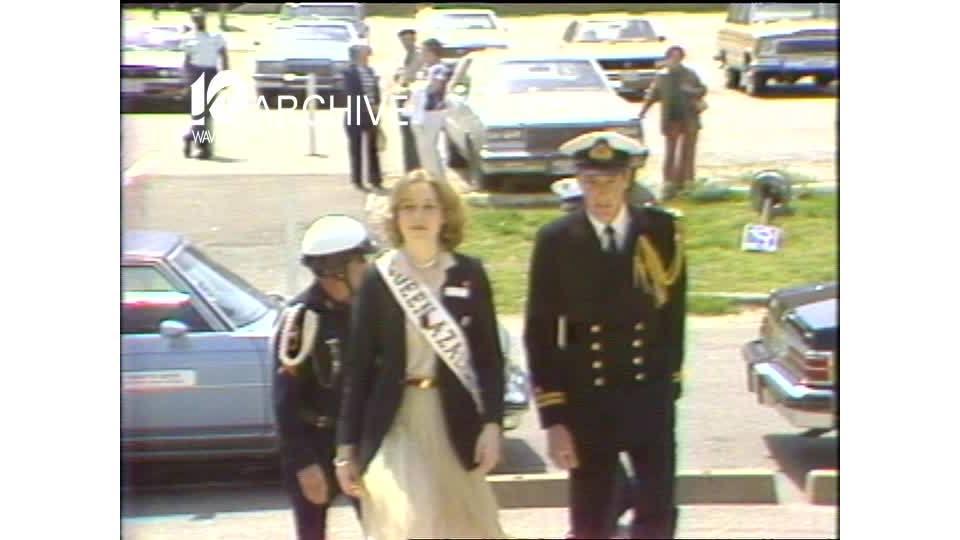 WAVY Archive: 1981 Queen Azalea
