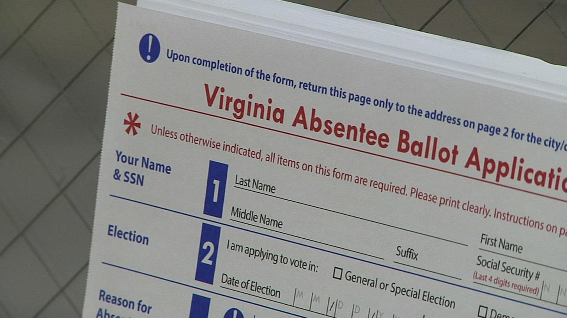 va absentee ballot