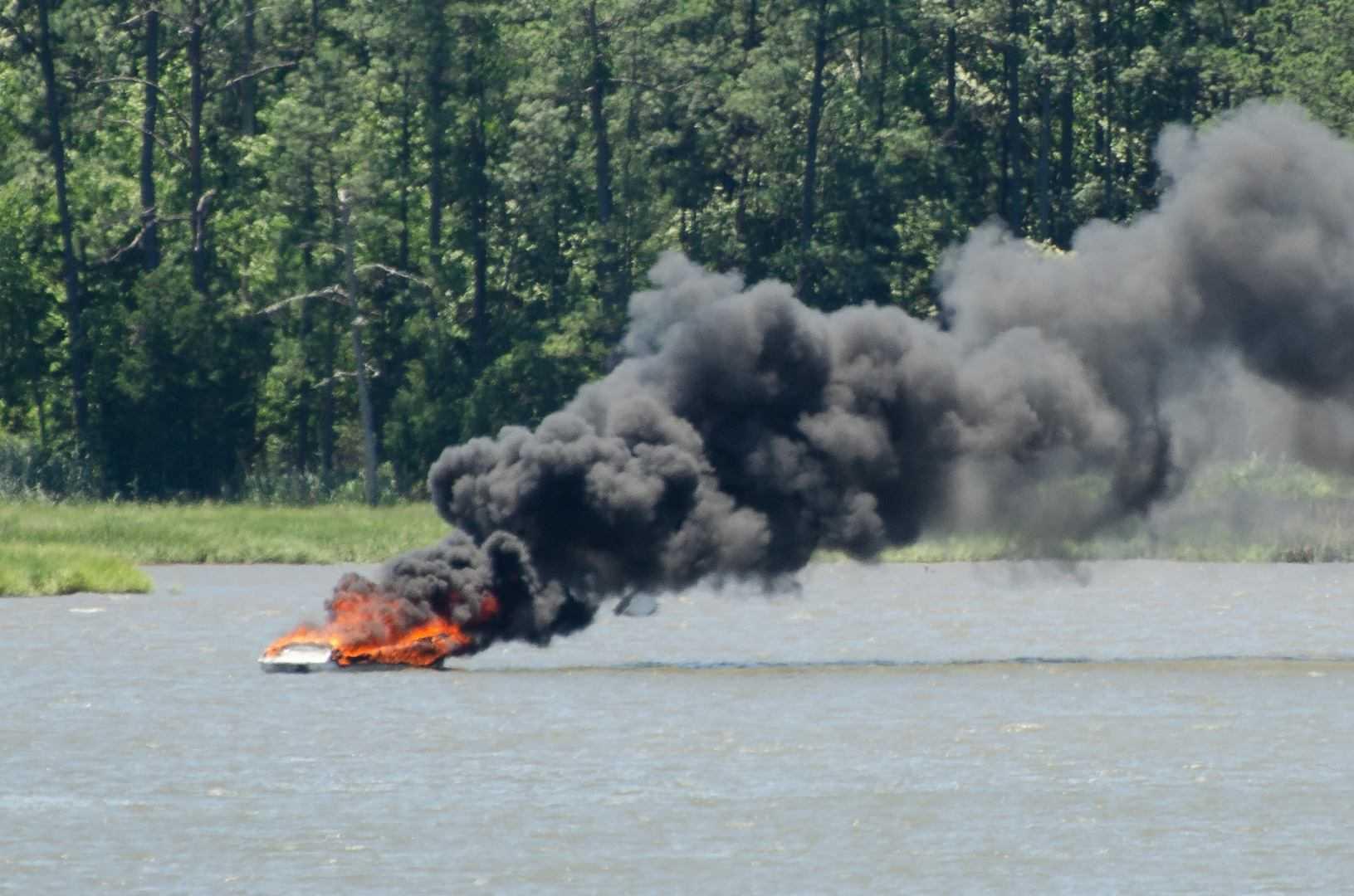Denbigh Boat Fire Facebook Richard Barber_1531080235435.jpg.jpg