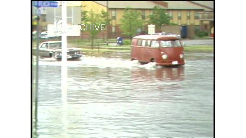 WAVY Archive: 1981 Area Flooding