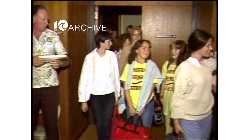 WAVY Archive: 1981 Norfolk Exchange Students