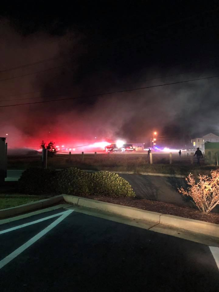 Elizabeth City Chic-fil-A fire