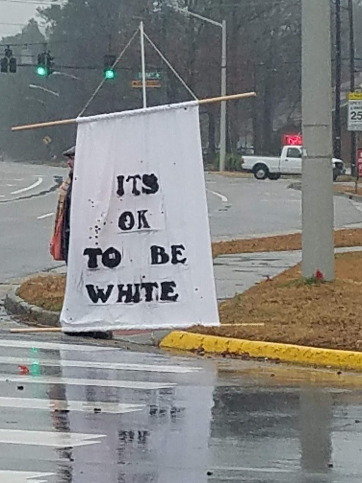 its ok to be white sign toni klemmer photo_1549906254968.jpg.jpg