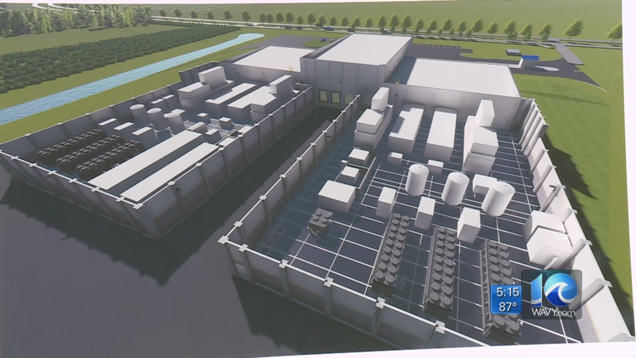 Crews break ground on $80M hyper-scale data center facility in VB