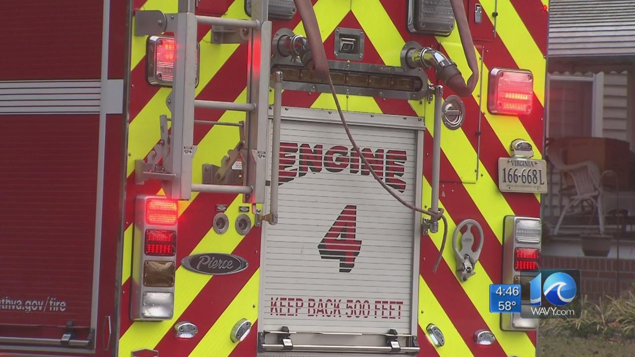 Virginia Beach fire truck