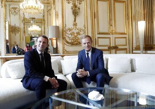 European Council President Donald Tusk in Paris