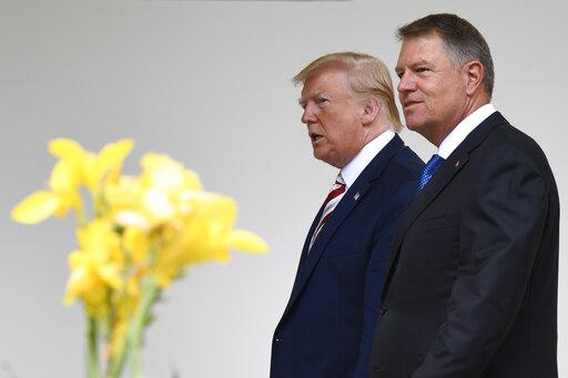 Donald Trump, Klaus Iohannis