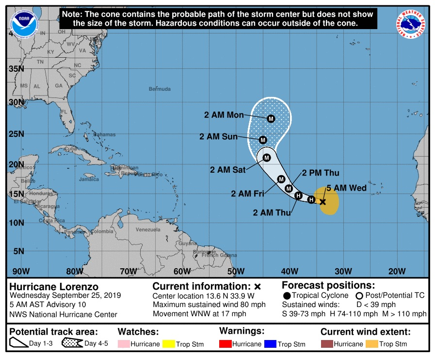 image about Printable Hurricane Tracking Maps known as Hurricane