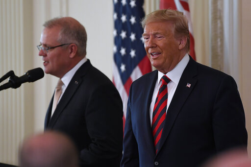 Donald Trump, Scott Morrison
