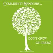 visualizing community managers as a tree