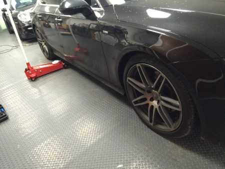audi a7 booked in for gator installs