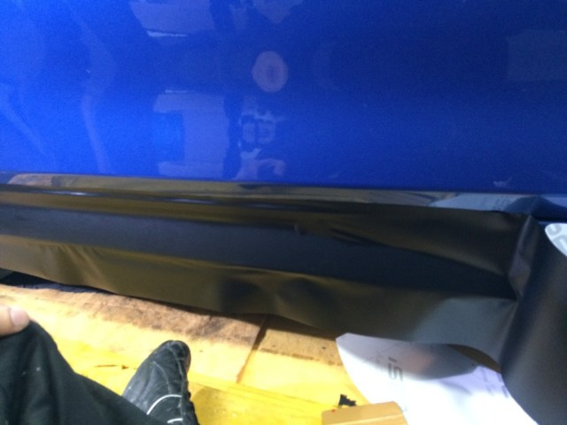 We aligned the isee2 vinyl into the side skirts.