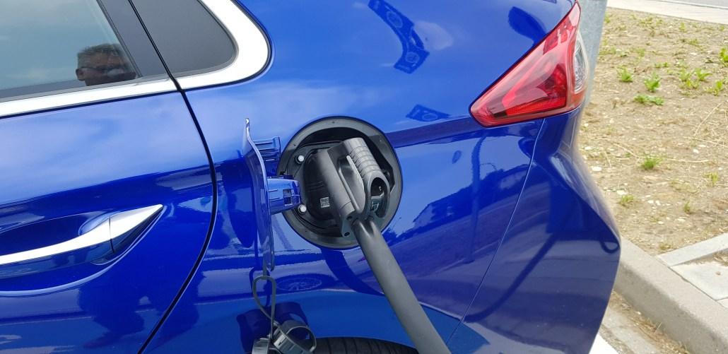 Ladevorgang Elektroauto