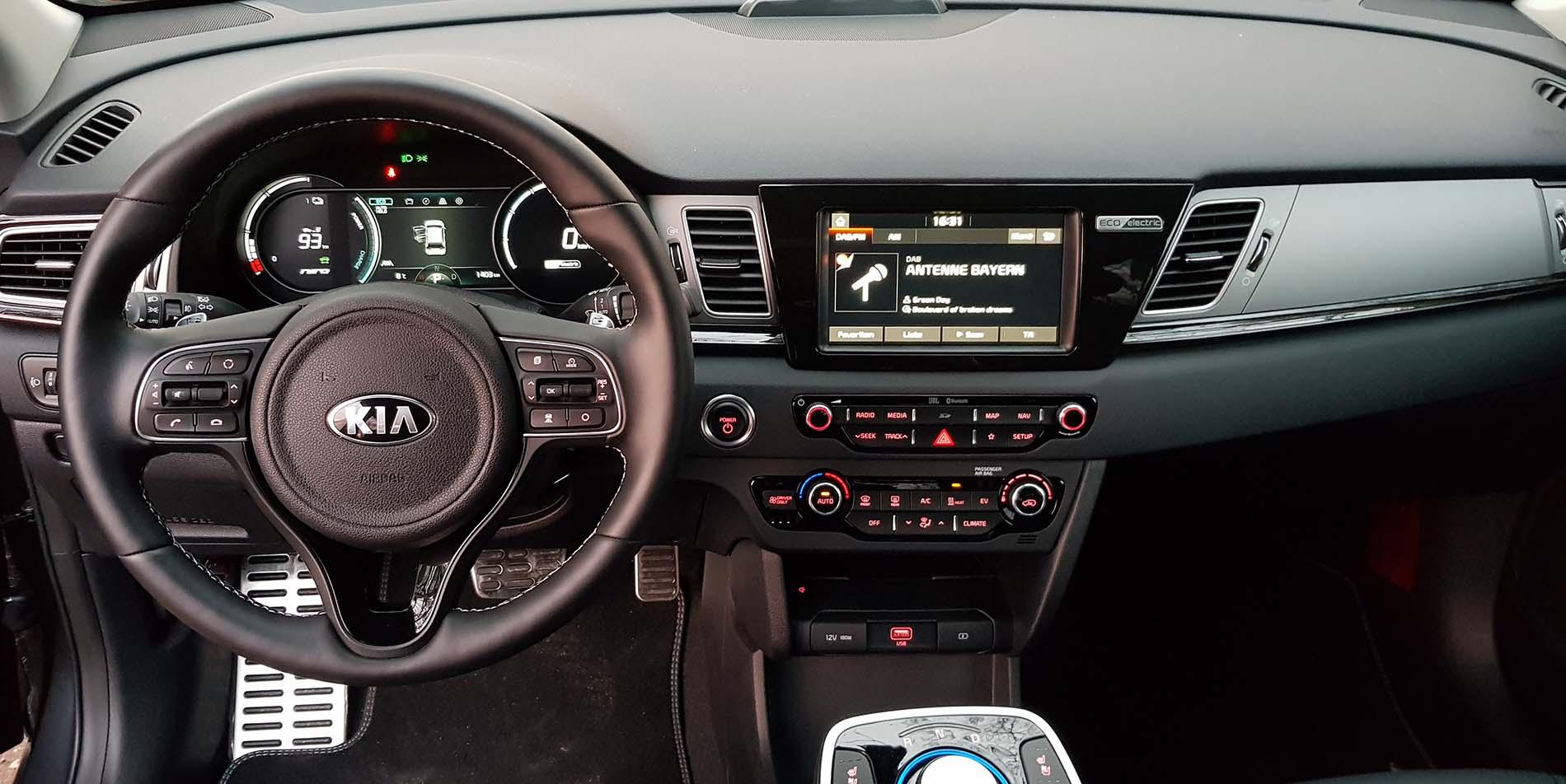 Cockpit e-Niro