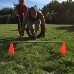 Outdoor parcourstraining