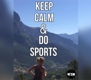 Keep calm & do sports