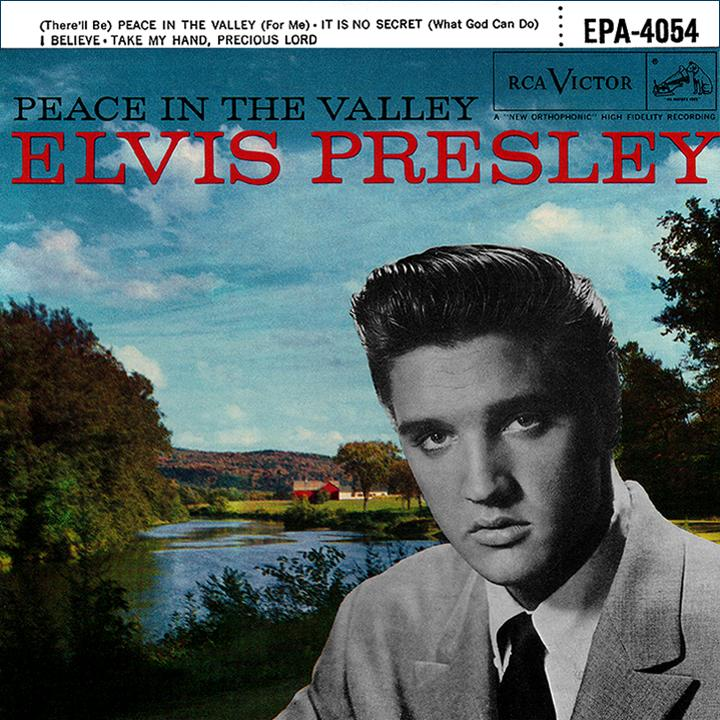 "Image result for Elvis Presley's EP ""Peace in the Valley"""