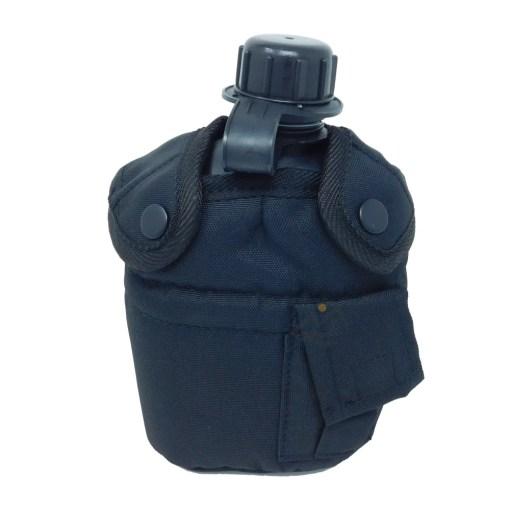 SMT-1025-Feldflasche-US-mit-Becher-und-Hülle-schwarz