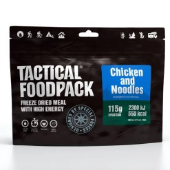 TFP-1005-Outdoor-Nahrung-Tactical_Foodpack_on_the_plate_Chiken_and_Noodles-2