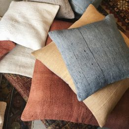 Single Sided Vintage Hemp Pillows