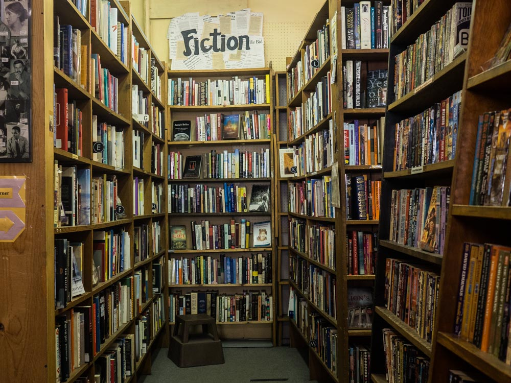 Fiction Section Capital Hill Bookstore