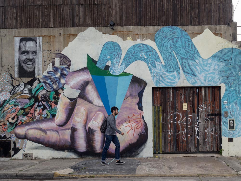 Buenos Aires Street Art Arrow Guy