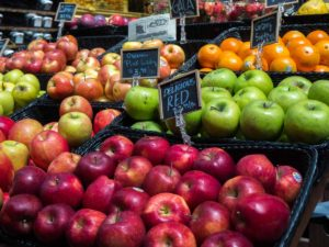 San Francisco Ferry Building Breakfast Apples