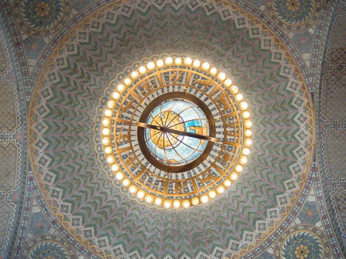 LA County Library Main Branch Rotunda