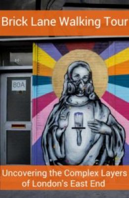 Unpeel the complex historical layers of the East End on this London street art walking tour with Context Travel