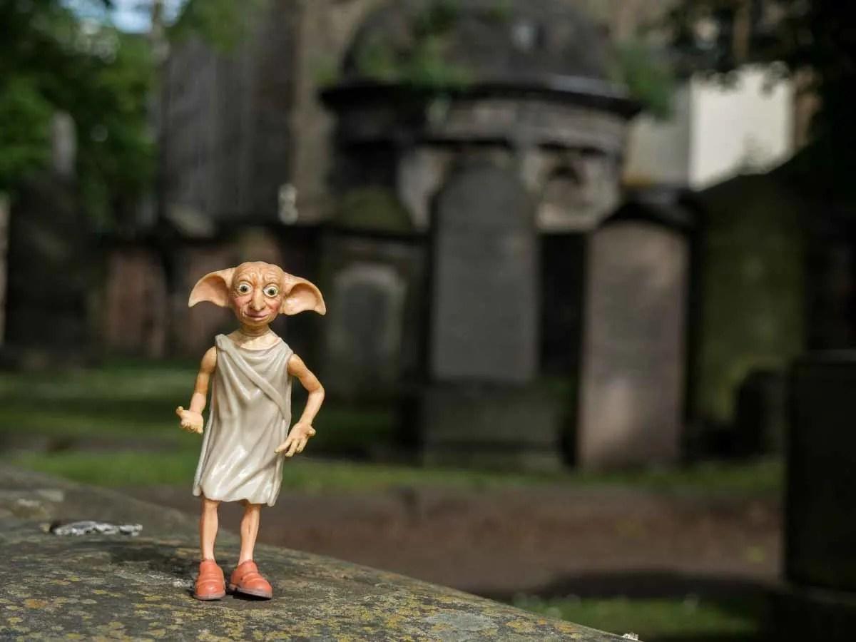 Dobby in Greyfriars Cemetery Edinburgh