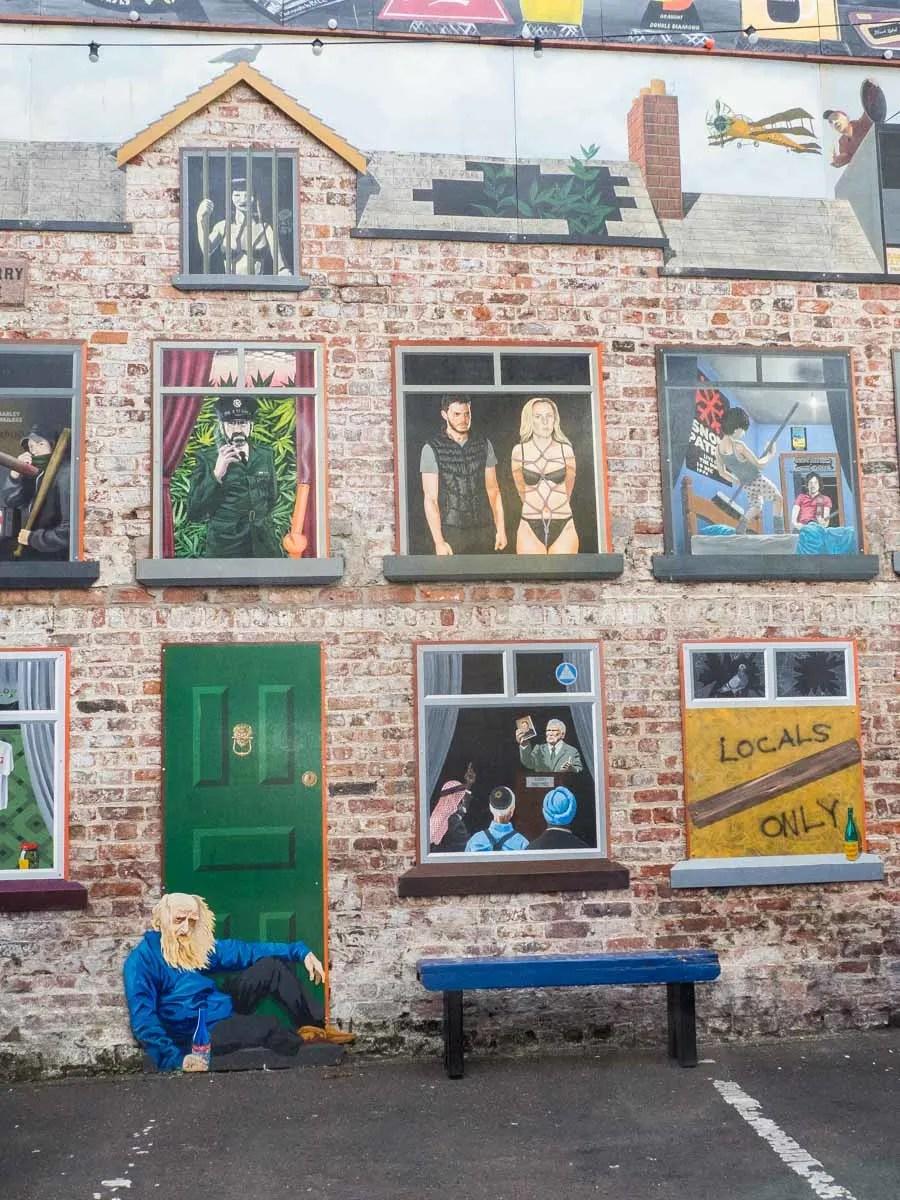Belfast Street Art Waring Street