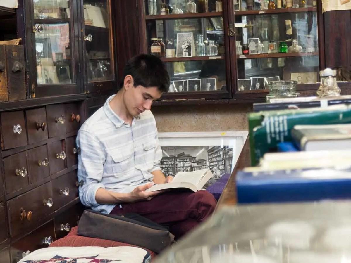 Sweny's Pharmacy Read Along Dublin Literary Tour
