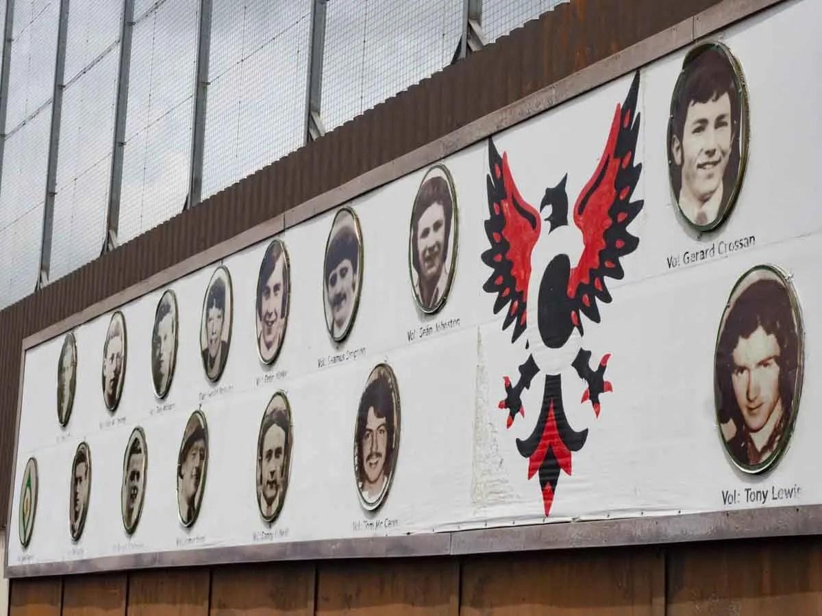 Belfast Falls Road Martyrs