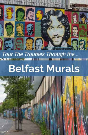 Take a Black Cab tour and see the sectarian Belfast murals. They tell a visual story of the Troubles and Northern Ireland's ongoing recovery.Then visit downtown Belfast for edgy and modern street art