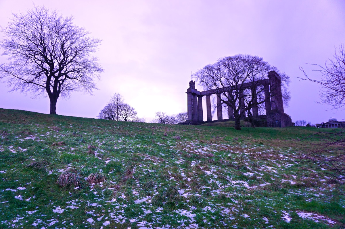 Calton Hill via Wayfaring With Wagner