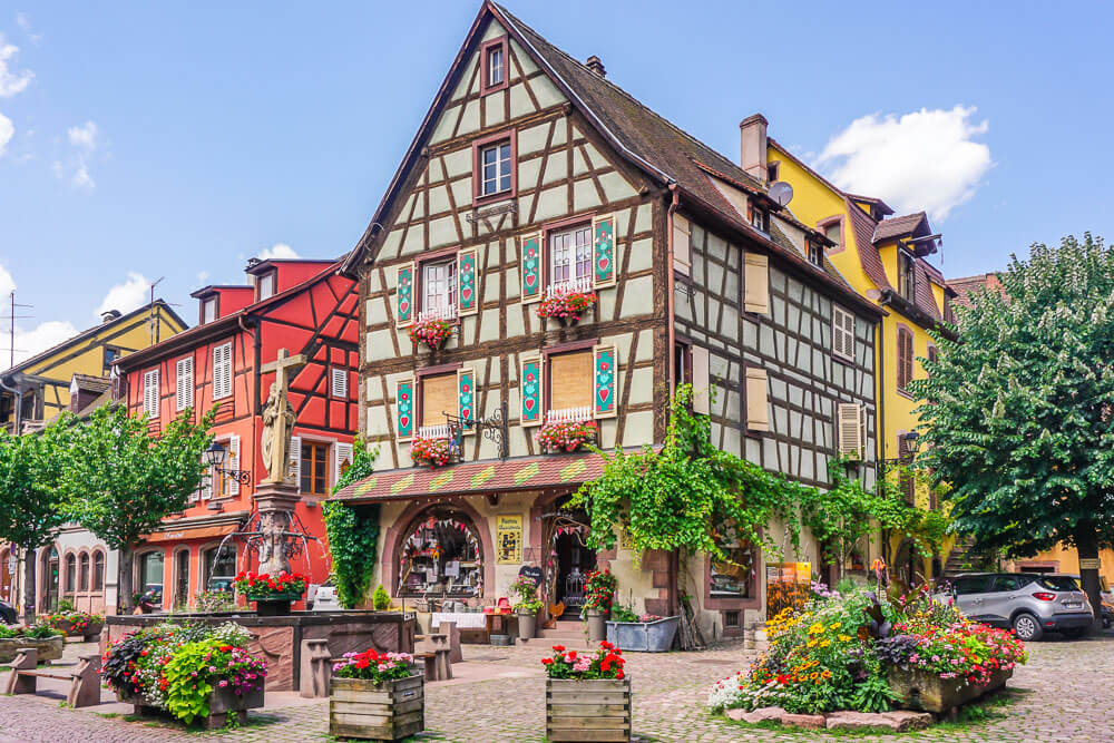 A Magical Day Trip To Kaysersberg France Wayfaring With