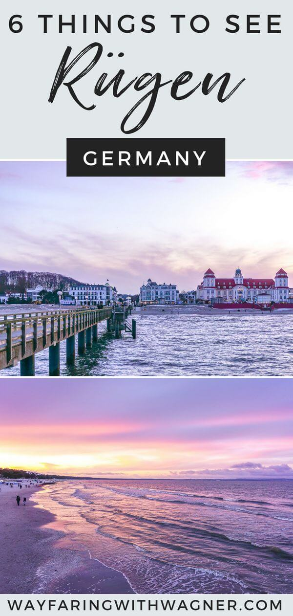 Between the resort architecture, charming seaside towns, sandy beaches, chalk cliffs, lighthouses, and the infamous Prora structure, there are so many historical things to see onRügen! Spend a weekend exploring Germany's largest and most-visited island, Rügen! #RügenTipps #RügenUrlaub #RügenGermany