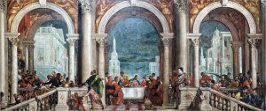 Veronese's Feast in the House of Levi. All the wrong people get invited (creative commons)