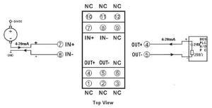 Passive 420mA signal isolation Conditioner [DIN11IAP