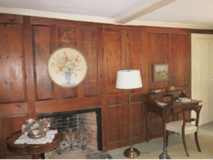 Paneled Fireplace
