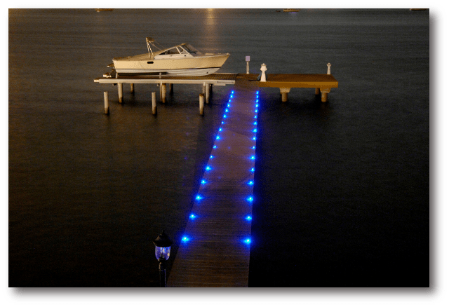 Navigating Marine Red Lights Night