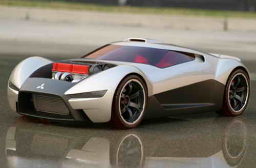 Mitsubishi Double Shotz Concept Car