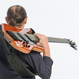 Wayne Jones, bass guitar player - smooth jazz CD Mr. Jones, back cover