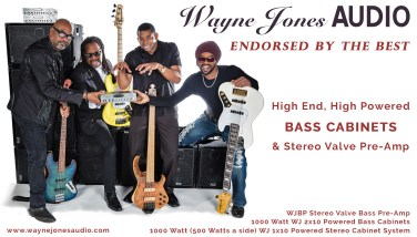 Wayne Jones AUDIO endorsees, Carl Young (Michael Franti & Spearhead), Nate Phillips (Pleasure), David Dyson (Pieces Of A Dream, Secret Society), André Berry (David Sanborn) - see full list at waynejonesaudio.com